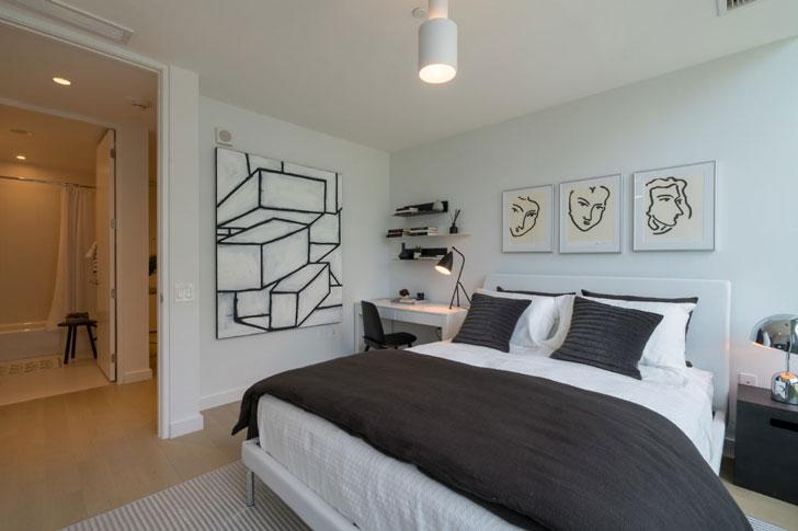 Апартаменты с элементами городского дизайна