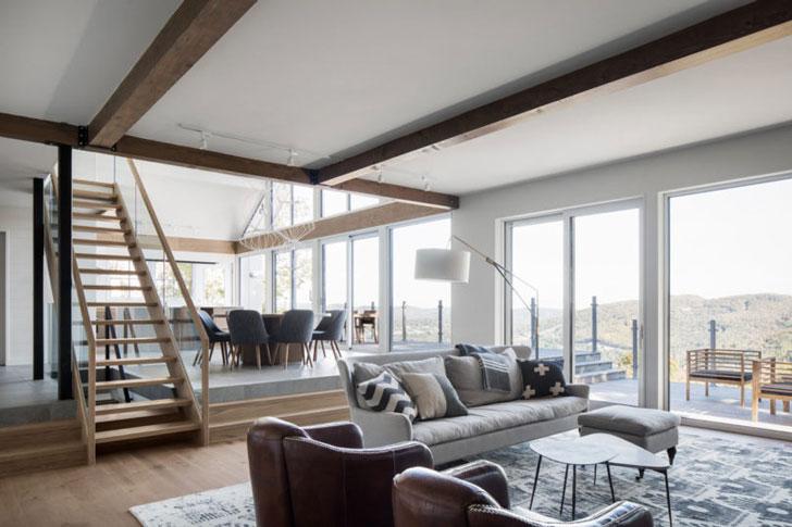 Дом в горах Квебека
