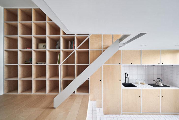 Маленькая современная квартира
