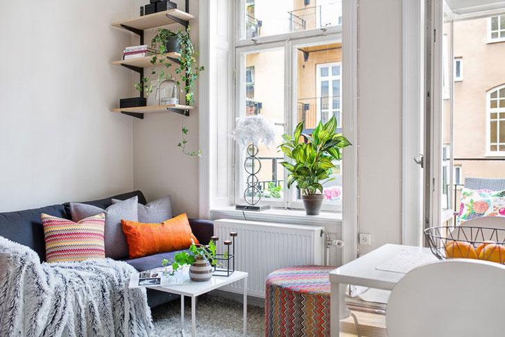 Маленькая квартира-студия