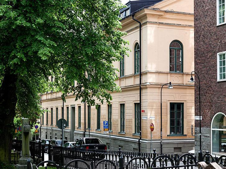 Дуплекс в центре Стокгольма