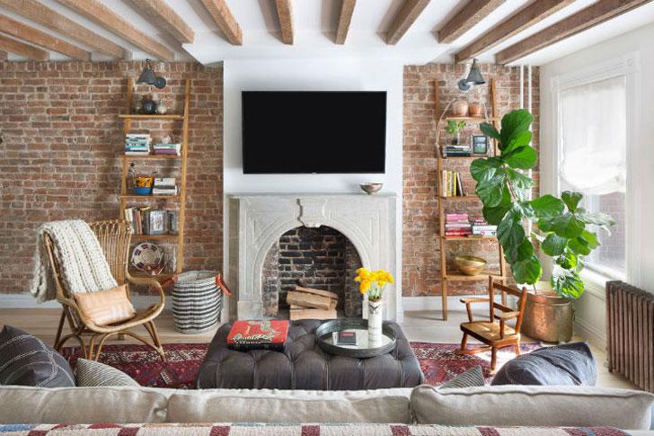 Уютный дом для ценителей искусства
