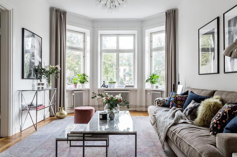 Квартира с высокими потолками