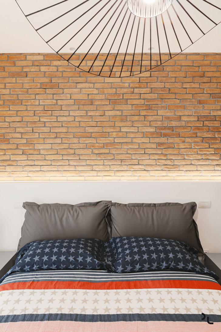 Квартира с модульными диванами