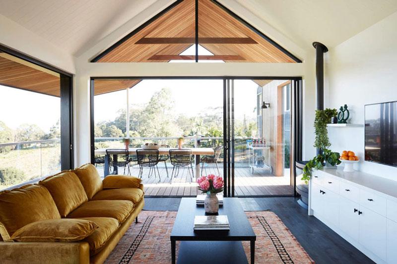 Интерьер дома в Австралии