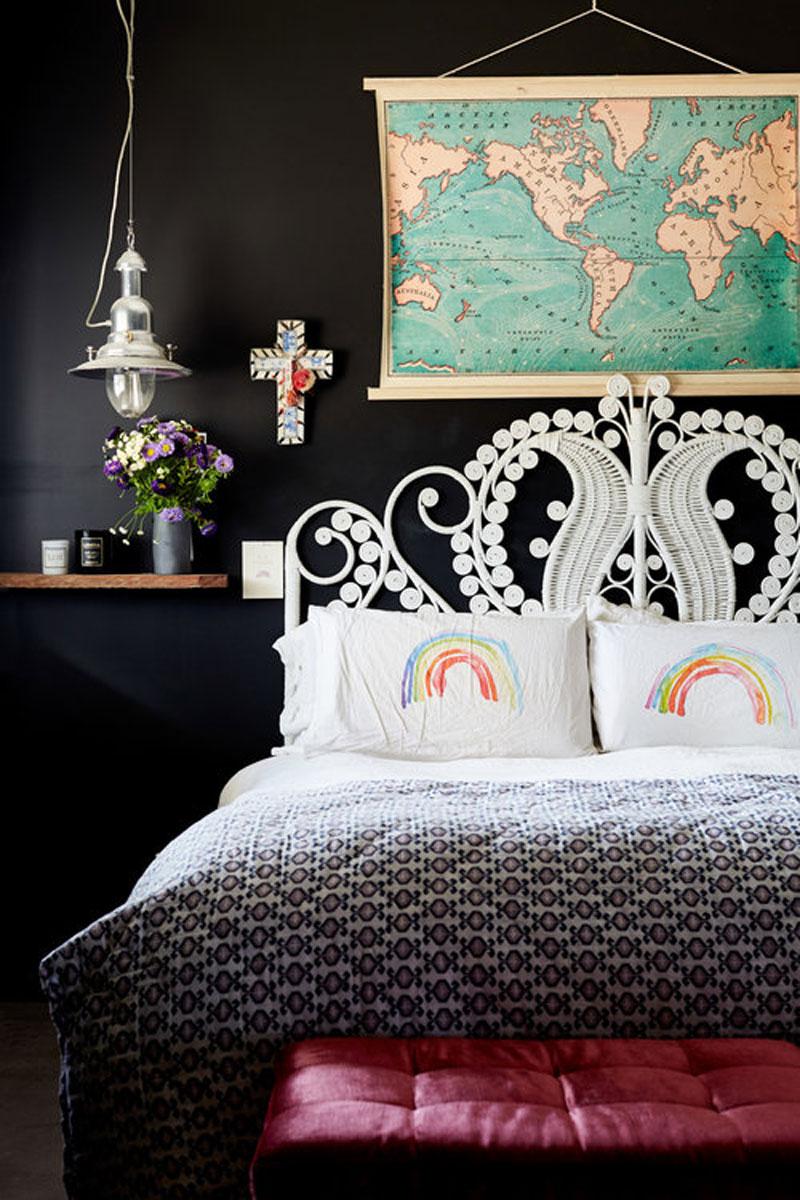 Квартира с ярким декором