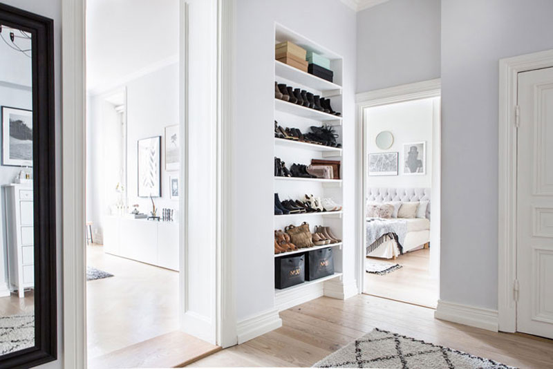 Скандинавский дизайн - светлые цвета стен