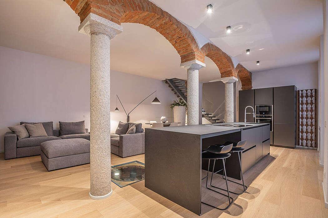 Квартира в Италии в стиле лофт
