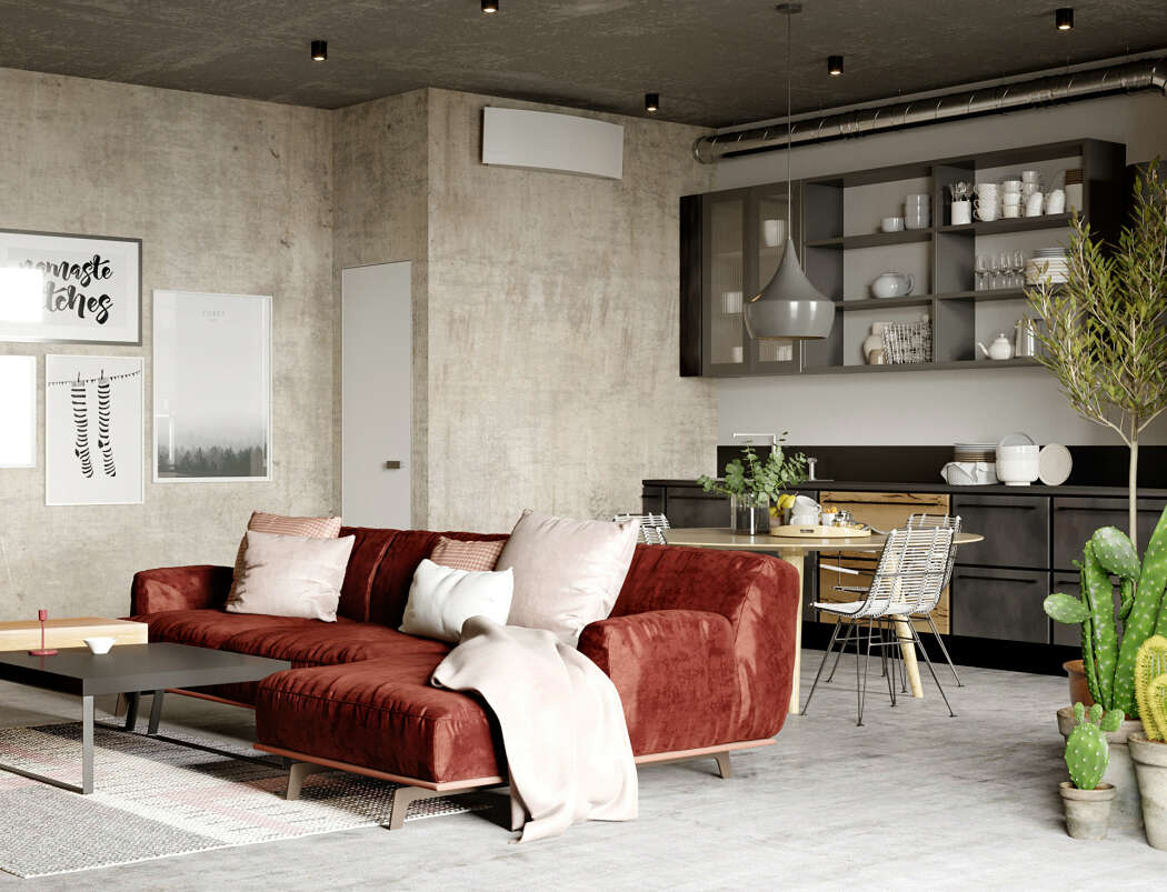 Стильный интерьер квартиры в Минске