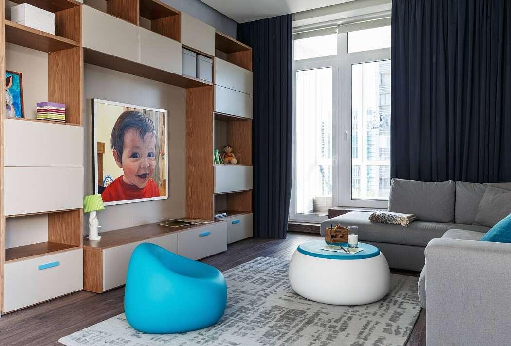 Квартира в Москве в стиле лофт