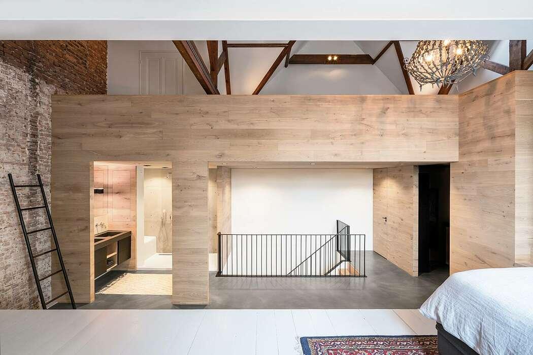 Жилой дом в стиле лофт