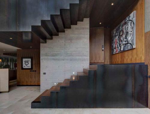 Loft дом из монолитного бетона
